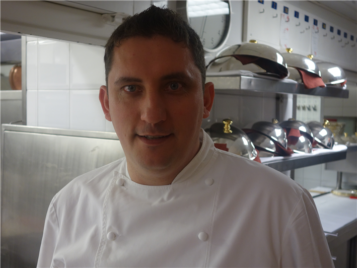 head chef Dominique Lory